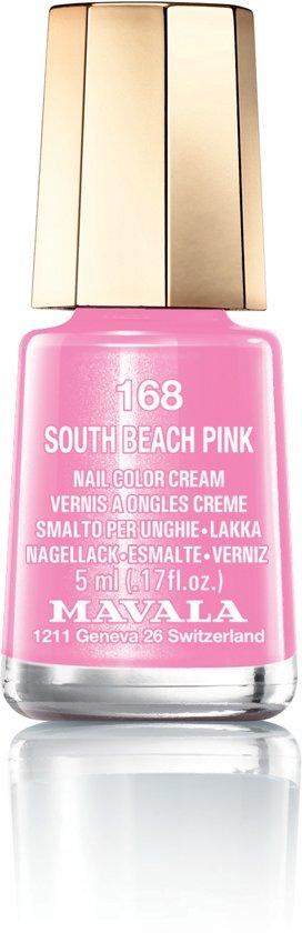 Mavala Mini Color Nagellak - 168 South Beach Pink  - Roze