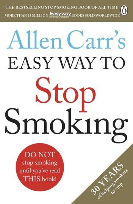 Boek cover Allen Carrs Easy Way to Stop Smoking van Allen Carr (Onbekend)