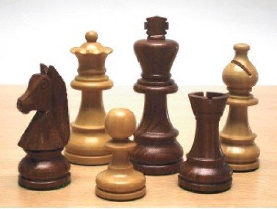 Afbeelding van het spel Schaakstukken Staunton maat 4