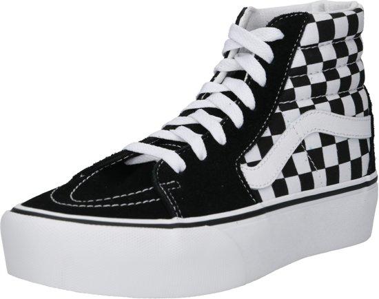 896b8774cb4 bol.com | Vans Dames Sneakers Sk8 Hi Platform 2 - Zwart - Maat 40,5