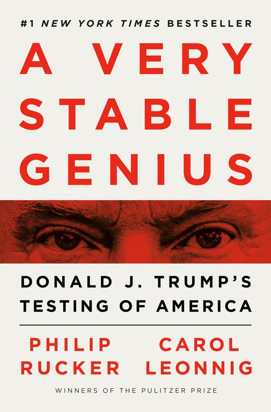 Boek cover A Very Stable Genius van Philip Rucker (Onbekend)