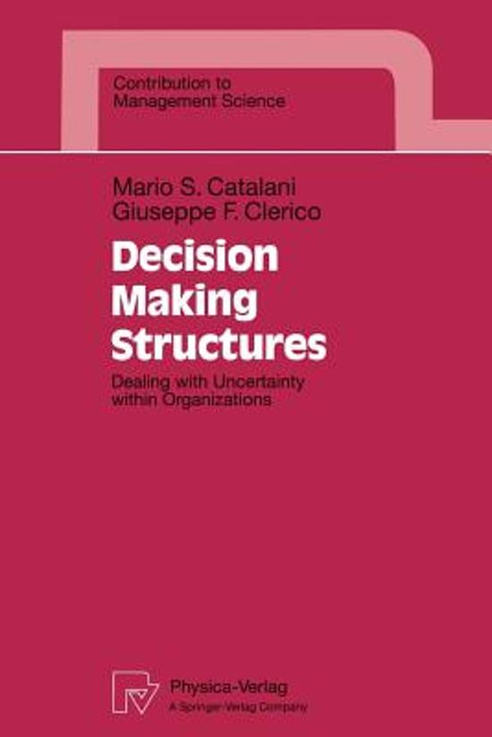 Decision Making Structures