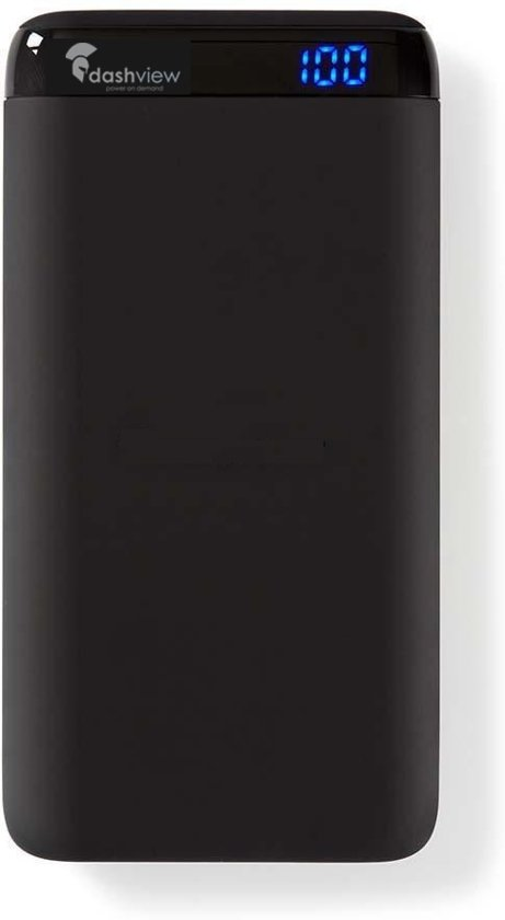 POWERBANK 15000 MAH 2 USB-A UITGANGEN Fast Charge