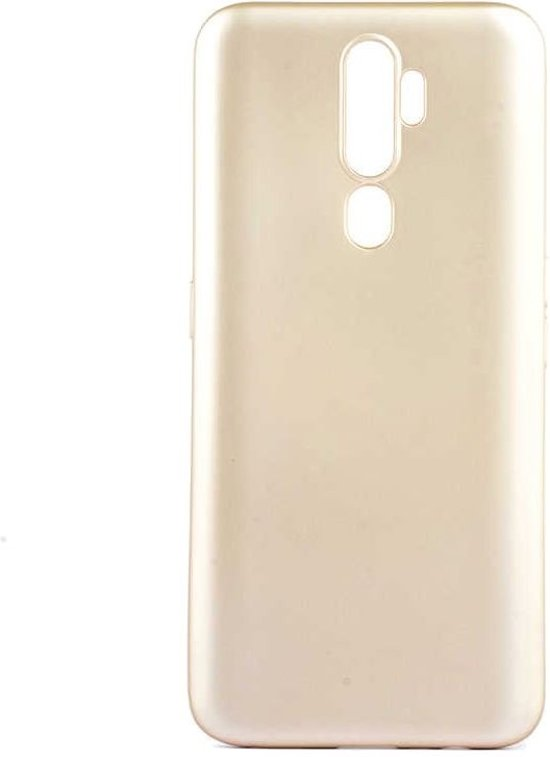 Teleplus Oppo A5 2020 Case Luxury Silicone Gold hoesje