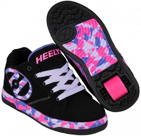 bc910bf5fad Heelys Rolschoenen Propel Confetti - Sneakers - Kinderen - Meisjes - Maat  35 - zwart/
