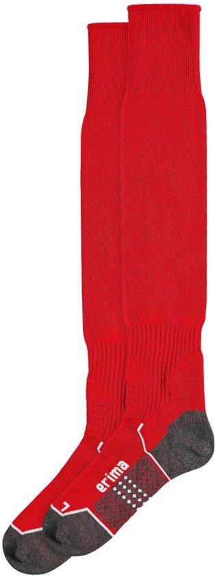 Erima Voetbalsokken zonder logo - Rood