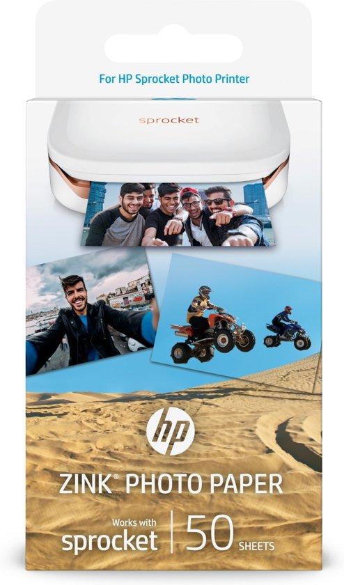 HP ZINK Sticky-backed Glans pak fotopapier