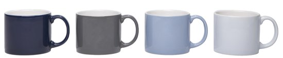 Jansen+co My Mug Medium Sky Mokken 0,24 L - 4 st.