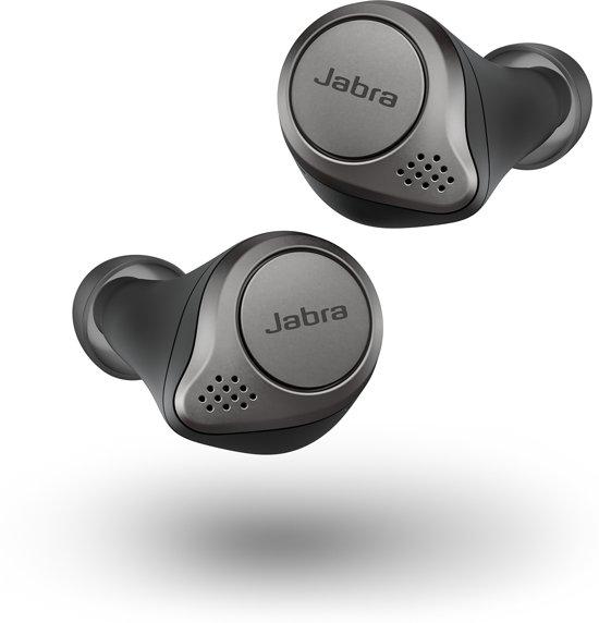 Jabra Elite 75t - Volledig draadloze in-ear oordopjes - Zwart