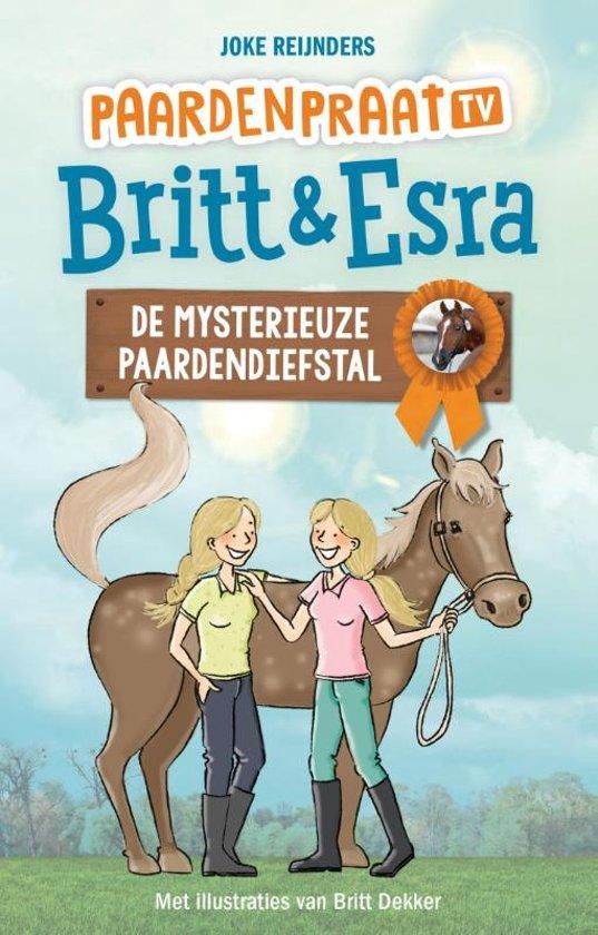 Paardenpraat tv Britt & Esra - De mysterieuze paardendiefstal