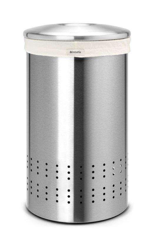 Brabantia Wasbox 50 Liter Matt Steel.Wasbox 50 Liter Matt Steel