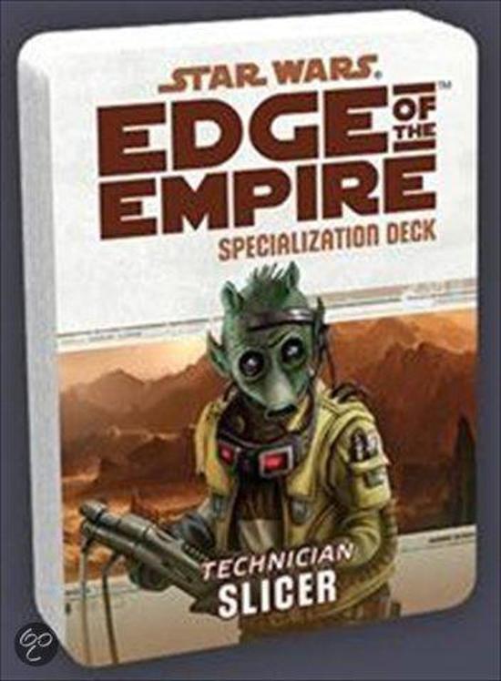 Afbeelding van het spel Star Wars Edge of The Empire Slicer Spec.Deck - Kaartspel