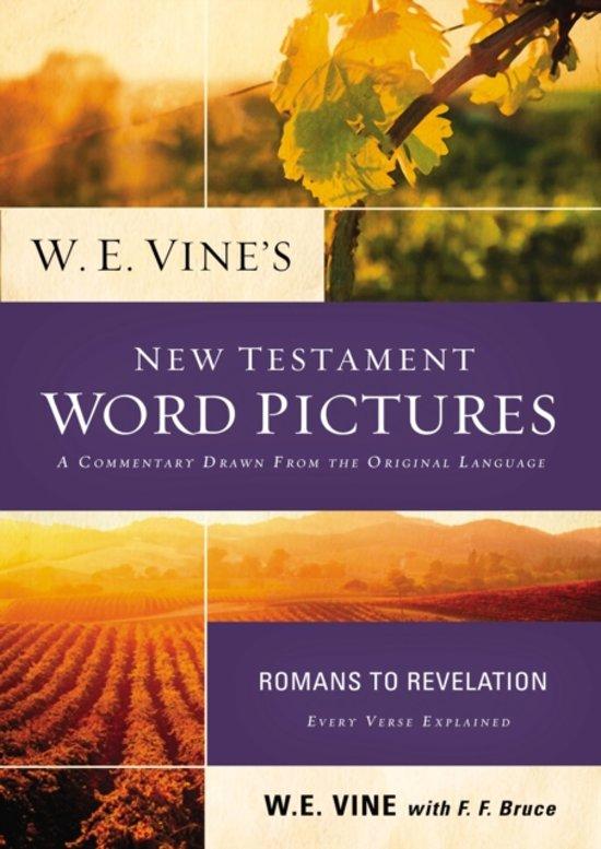 Alle boeken van schrijver we vine 1 10 boek cover w e vines new testament word pictures van w e vine paperback fandeluxe PDF