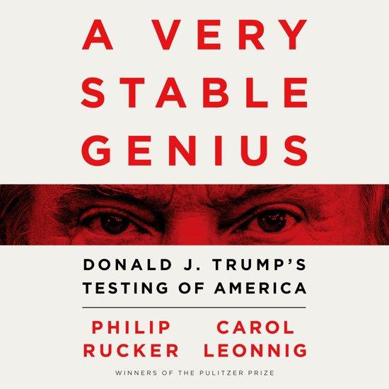 Boek cover A Very Stable Genius van Philip Rucker (Onbekend)