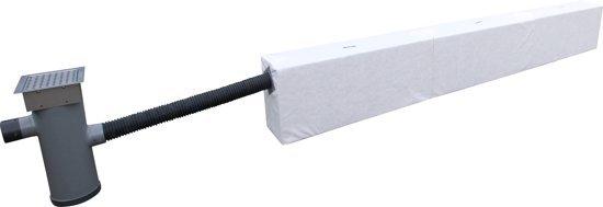Hydrorock RWB510-RVS-10 afkoppelset (510L buffer)