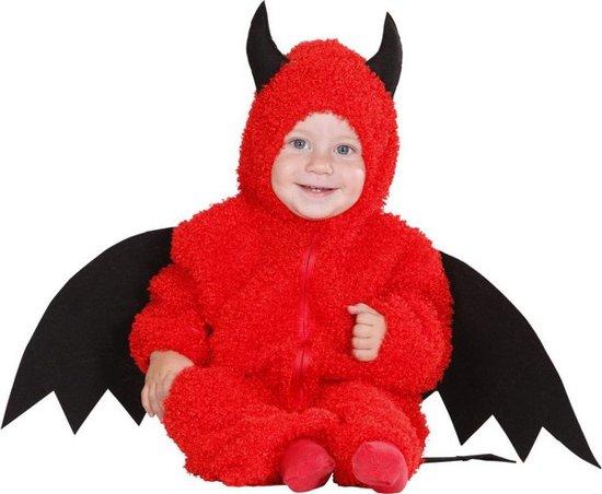 Peuter Halloween.Rode Duivel Kostuum Voor Peuters Halloween Verkleedkleding Maat 98