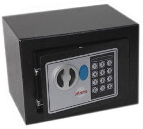 Rottner Elektronische Meubelkluis Dagobert Zwart - 17x23x17cm|4kg