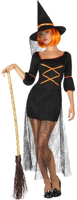 Kostuums voor Volwassenen Heks Spinneweb (2 Pcs)