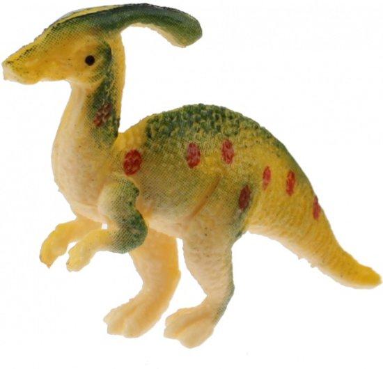 Toi-toys Miniatuur Dinosaurus 6 Cm Geel/groen