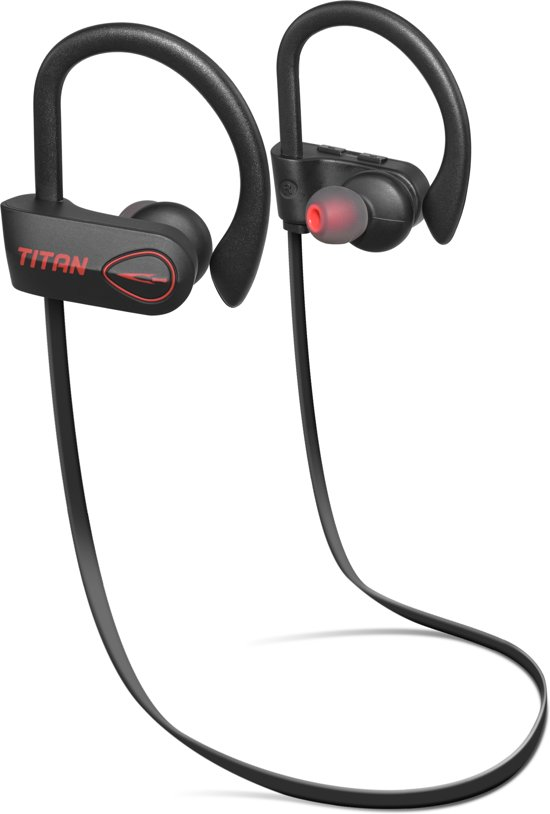 Titan Draadloze Bluetooth Oordopjes Sport | Werkt met elk bluetooth apparaat! | In-Ear Oortjes - Headset - Draadloos - Wireless - Sportoortjes | Voor o.a. iPhone & Samsung