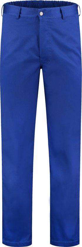 Yoworkwear Foodbroek polyester/katoen korenblauw maat 44