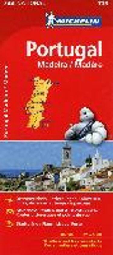 Michelin Portugal Madeira 1 : 400 000