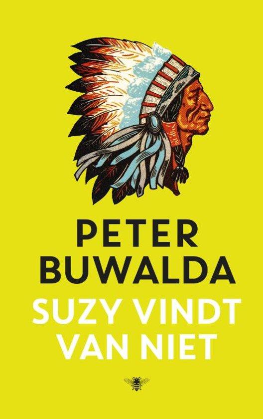 Boek cover Suzy vindt van niet van Peter Buwalda (Hardcover)
