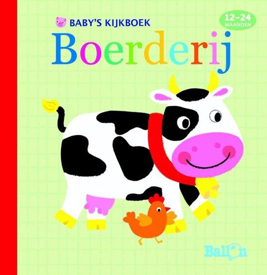 Eendjesreeks 0 - Baby's kijkboek: boerderij