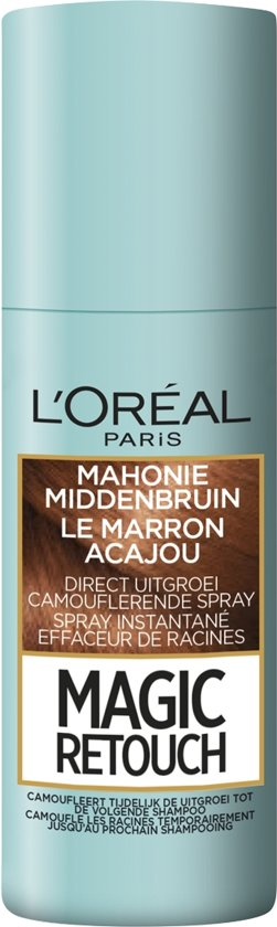L'Oréal Paris Magic Retouch Uitgroei Camoufleerspray - Mahonie Middenbruin
