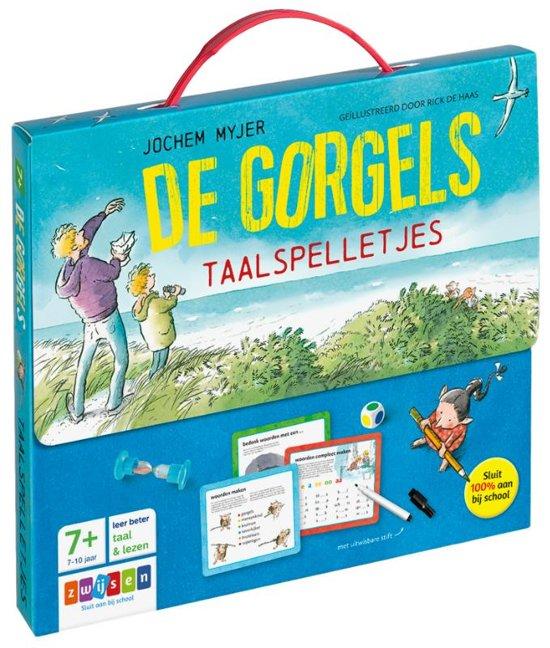 Boek cover De gorgels taalspelletjes van Jochem Myjer (Onbekend)