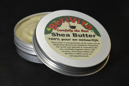 Shea Butter Puur en Ongeraffineerd 100ml Blik - Huid en Haar