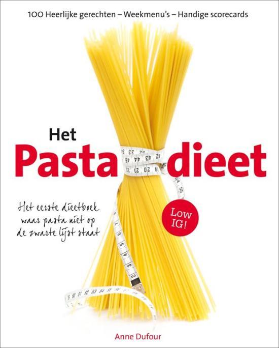 Cover van het boek 'Pasta Dieet'