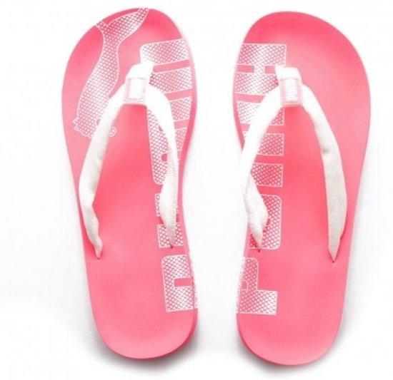 | Puma Epic Flip Slippers Dames Roze Maat 43