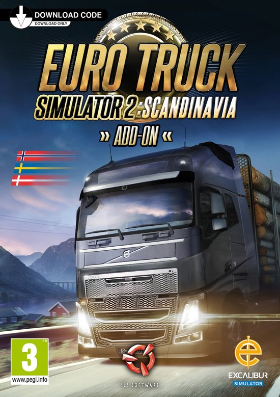 Euro Truck Simulator 2 - Scandinavia Add-on - Windows