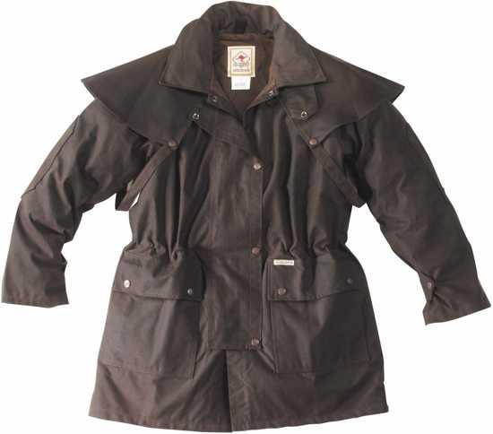 Jacket Waxjas M Brown Scippis Drover TExdwqqI