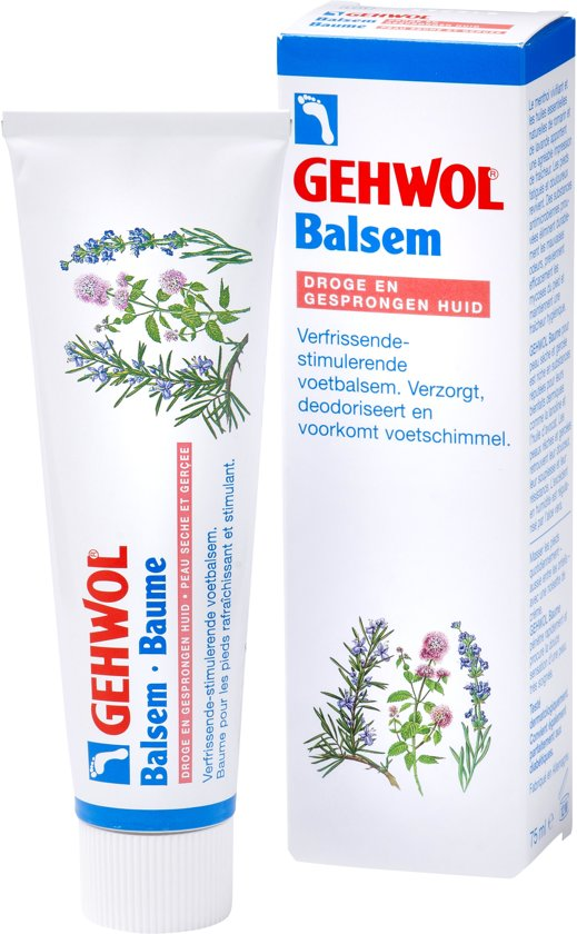 Gehwol Droge en Gesprongen Huid Balsem - Tube 75ml