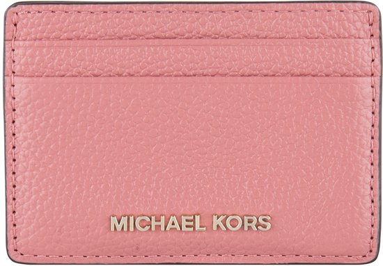 db42cd7311a bol.com | Michael Kors-Portemonnees-Mercer Card Holder-Roze