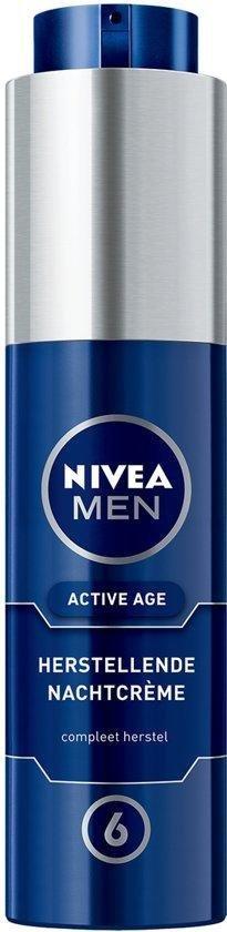 NIVEA MEN Active Age Herstellende Nachtcrème - 50 ml