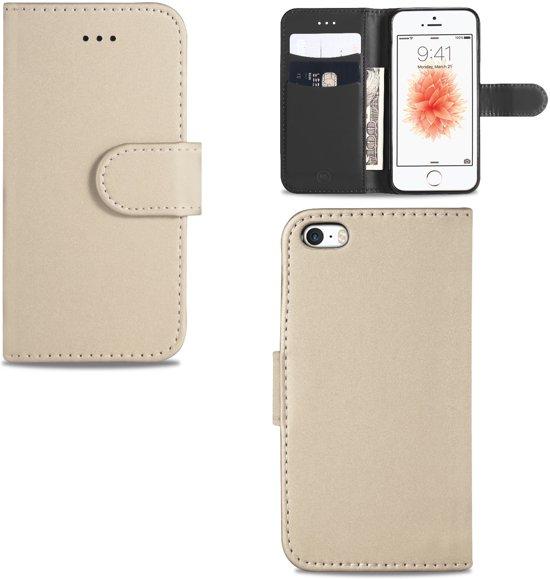 iPhone 5 | 5s | SE Hoesje Goud met Pasjeshouder