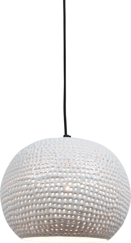 Urban Interiors - Spike bol - Hanglamp - Ø27cm - Glossy white