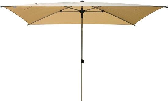 SORARA Porto Parasol – Beige – 3 x 2 m – Slinger- en Knikmechanisme – Rechthoekig