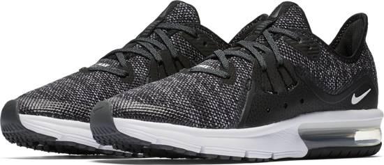 ed3918bfa5c bol.com   Nike Air Max Sequent 3 BG Sneakers Kinderen - Black/White ...