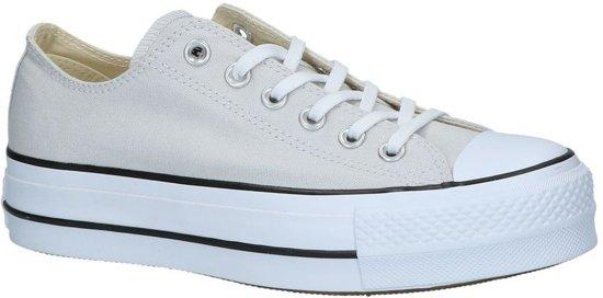 e9504a01716 Converse Dames Sneakers Chuck Taylor Allstar Lift - Grijs - Maat 38 ...