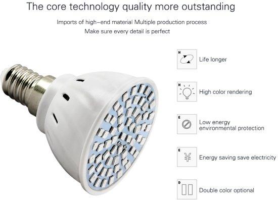 Daily Goods - Twee E27 led groeilampjes