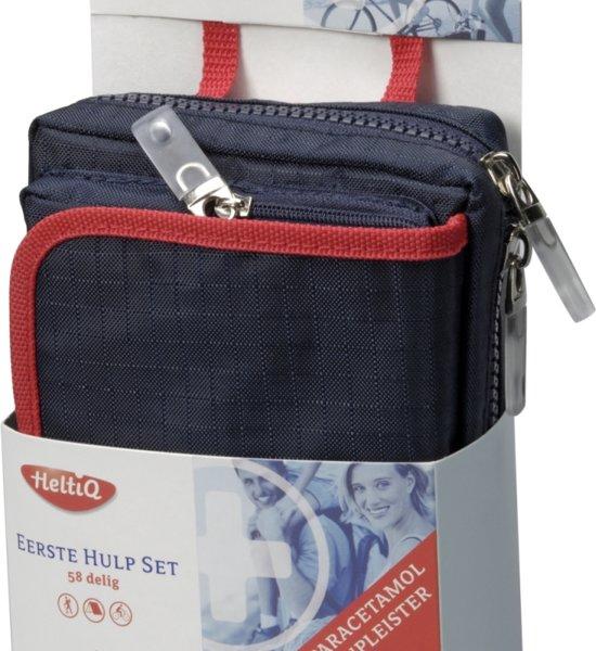 HeltiQ Eerste Hulpset - 58 delig - EHBO tasje