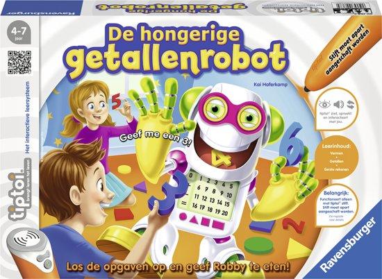 tiptoi® spel De hongerige getallenrobot