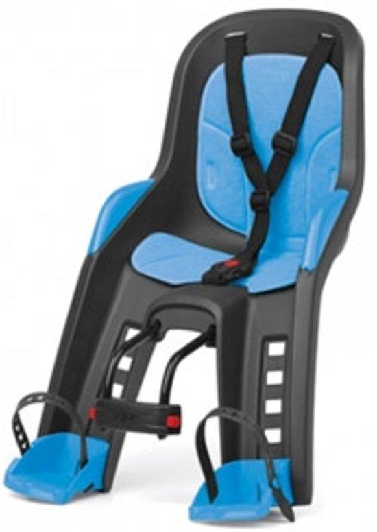 Polisport Bubbly mini - Fietsstoeltje - Grijs/blauw