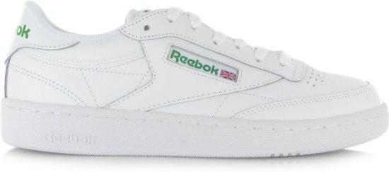 Reebok Club C 85 Sneakers Heren - Intense White/Green - Maat 41