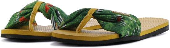 Havaianas Slippers Flipflops You Saint Tropez Geel Maat:37/38