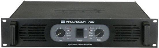 DAP-Audio P-700 audio versterker 2.0 kanalen Thuis Zwart